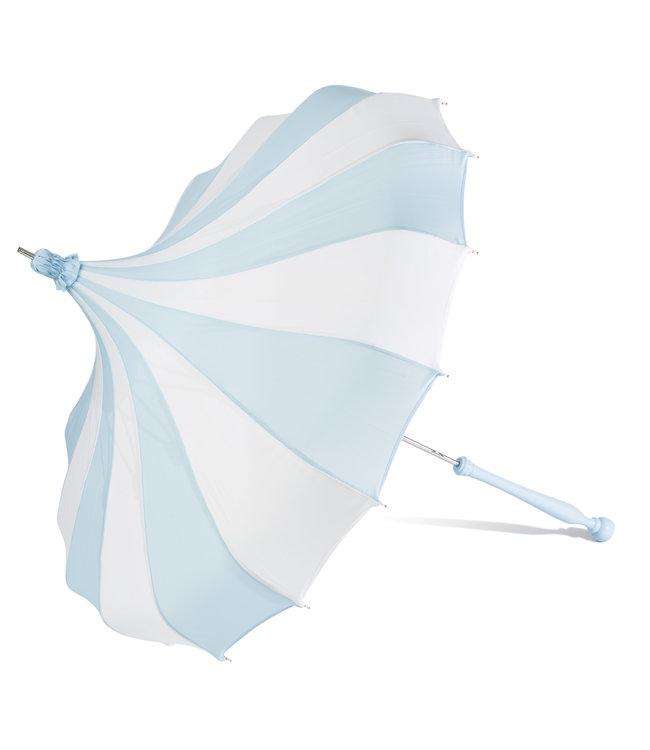 Bella Umbrella Signature Bella Custom Pinwheel Blue & White