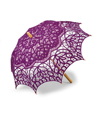 Goldenstate Lace Parasol Plum