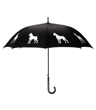 San Francisco Umbrella Boxer Umbrella Blk/White