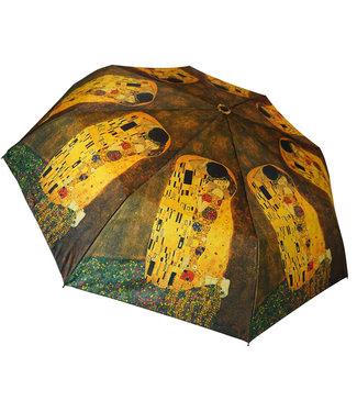 San Francisco Umbrella Klimt The Kiss Art Series Compact Umbrella