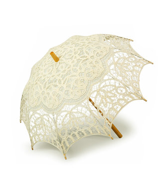 Goldenstate Lace Parasol Ivory