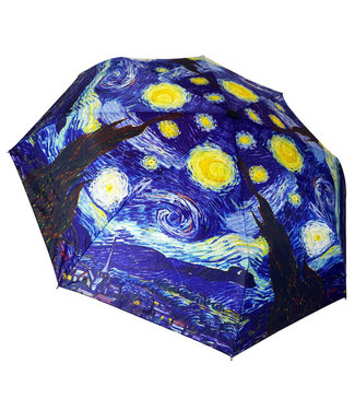 San Francisco Umbrella Art Series Compact Van Gogh Starry Night