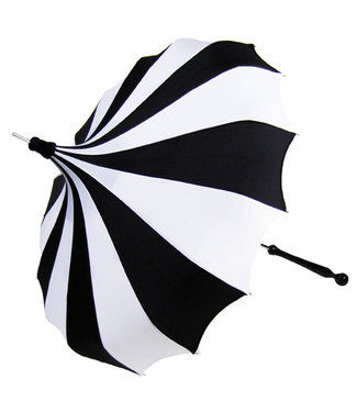 Bella Umbrella Signature Bella Custom Pinwheel White & Black