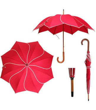 Vista Twirl Red Umbrella