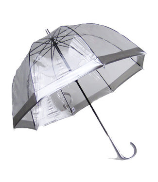 Vista Bubble Umbrellas Silver