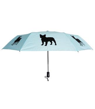 San Francisco Umbrella Folding French Bulldog Umbrella