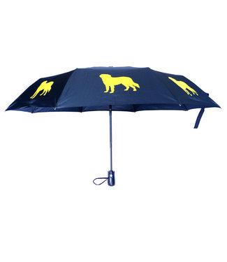 San Francisco Umbrella Folding Golden Retriever Umbrella