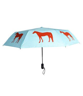 San Francisco Umbrella Folding Horse Umbrella