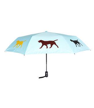 San Francisco Umbrella Folding Labrador Retriever Umbrella