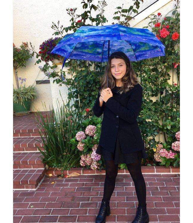 San Francisco Umbrella Art Series Compact Monet Waterlillies