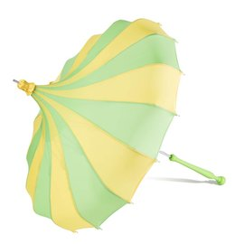 Bella Umbrella Signature Bella Custom Pinwheel Green & Yellow