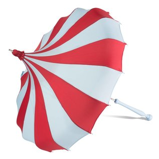 Bella Umbrella Signature Bella Custom Pinwheel Blue & Red
