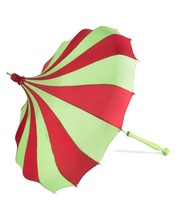 Bella Umbrella Signature Bella Custom Pinwheel Green & Red
