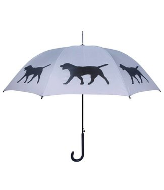 San Francisco Umbrella Labrador Retriever Umbrella Grey/Black