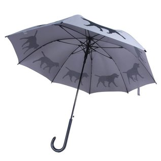 San Francisco Umbrella Labrador Retriever Umbrella Grey/Black