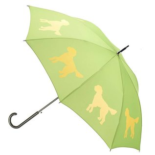 San Francisco Umbrella Doodle Umbrella - Green/Yellow