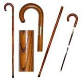 Vista Wood Sword Cane