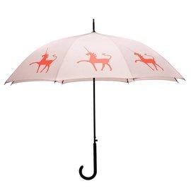 San Francisco Umbrella Unicorn Umbrella Taupe/Orange