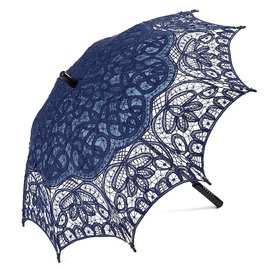Goldenstate Lace Parasol Navy Blue