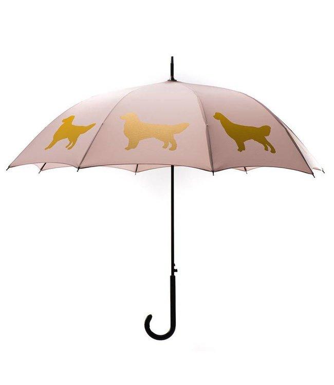 San Francisco Umbrella Golden Retriever Umbrella