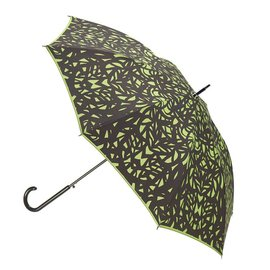 San Francisco Umbrella Butterfly Wing - Black/Green w/ Sleeve
