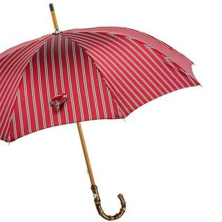 Pasotti Pasotti Italian Umbrella Red Stripe