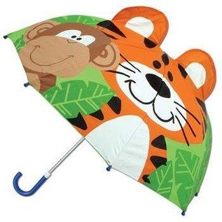 Stephen Joseph Pop Up Zoo Kids Umbrella