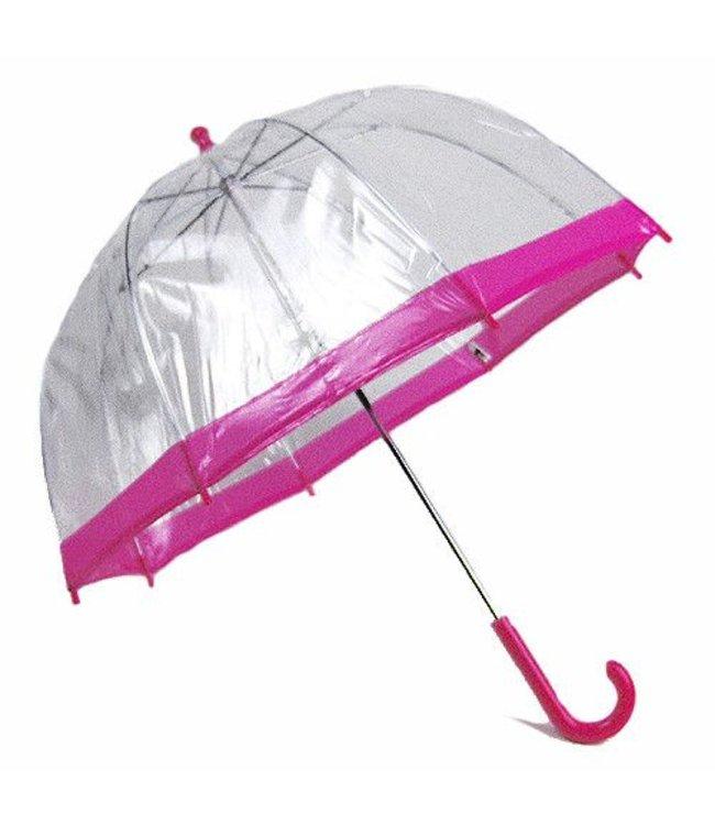 Vista Bubble Umbrella for Kids - Pink