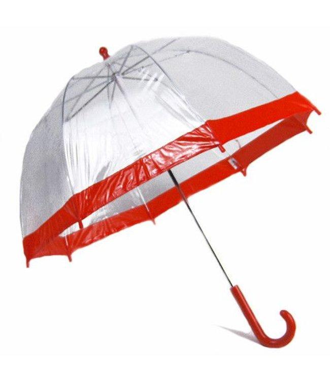 Vista Bubble Umbrella for Kids - Red