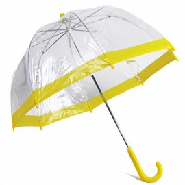 Vista Bubble Umbrella for Kids - Yellow