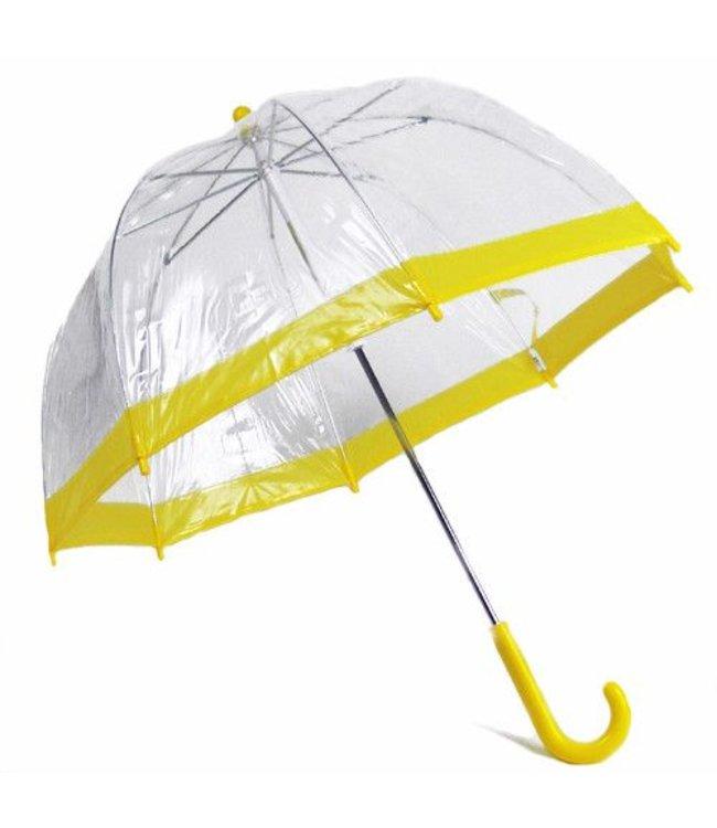 Vista Bubble Umbrella for Kids - Yellow