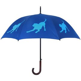 San Francisco Umbrella Labrador Retriever Umbrella - Blue/Lt Blue