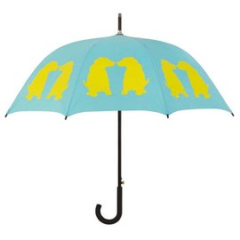 San Francisco Umbrella Labrador Puppies - Aqua/Yellow