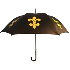 San Francisco Umbrella Fleur de Lys - Blk/Gold