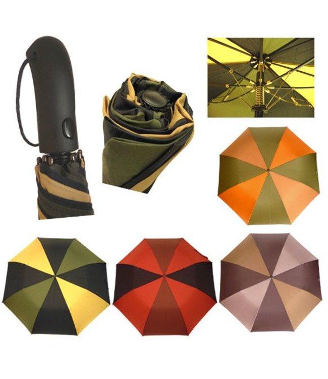 Vista Golf Size Auto Folding Umbrella Asst Colors