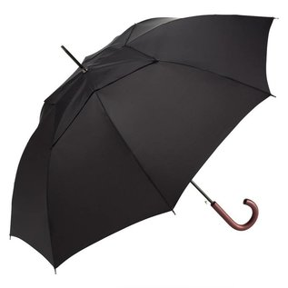 WindPro Vented Stick Umbrella - Black