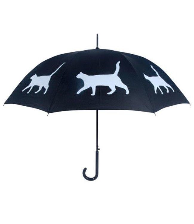 San Francisco Umbrella Cat Umbrella Blk/Wht