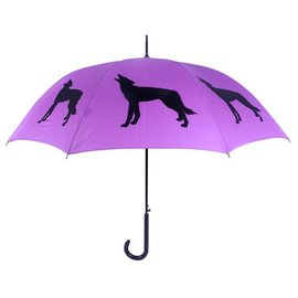 San Francisco Umbrella Wolf - Purple/Blk