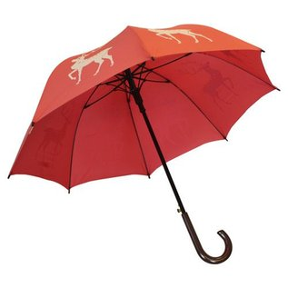 San Francisco Umbrella Animal Umbrella - Reindeer - Red/White