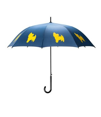 San Francisco Umbrella Yorkshire Terrier Umbrella Blue/Yellow