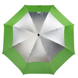 UPF 50+ Golf Umbrella Grass/Silver