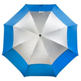 UPF 50+ Golf Umbrella Ocean/Silver