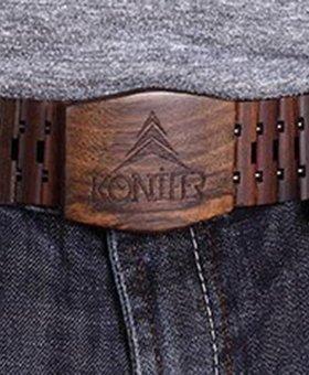 Konifer CHOCOLATE belt by KONIFER