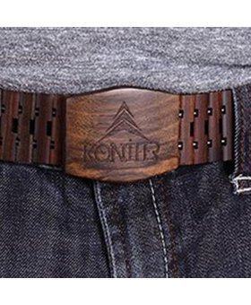 Konifer CHOCOLATE belt by KONIFER