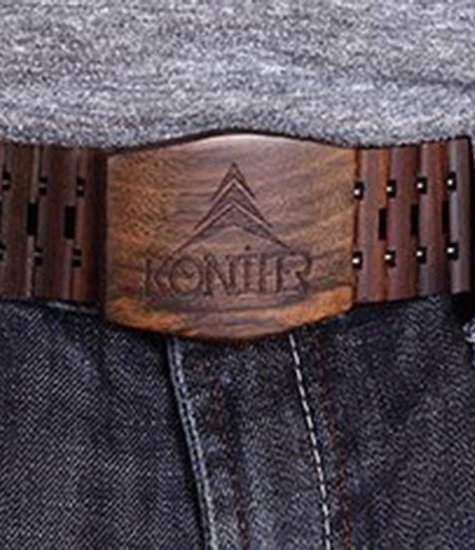 CHOCOLATE belt by KONIFER