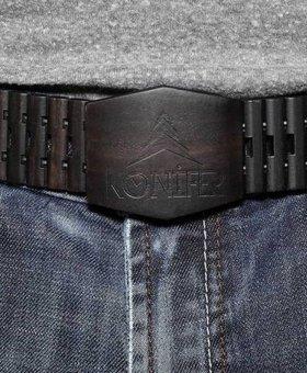 Konifer BLACK belt by KONIFER