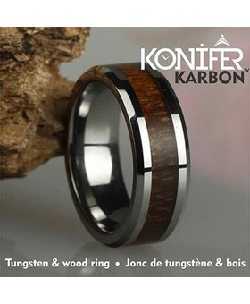 Jonc de Tungstène et Bois #KT001