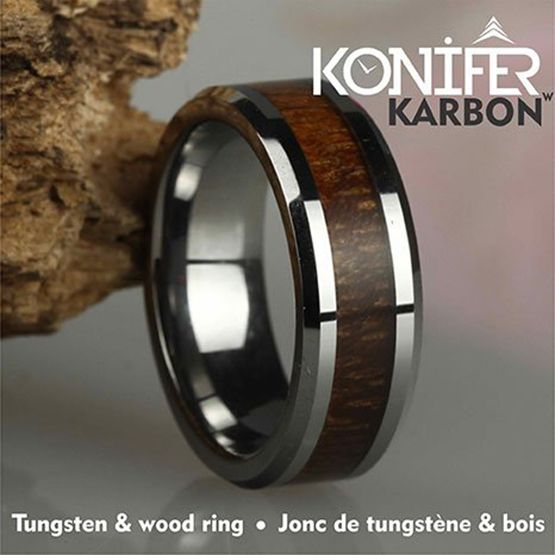 Konifer Jonc de Tungstène et Bois #KT001
