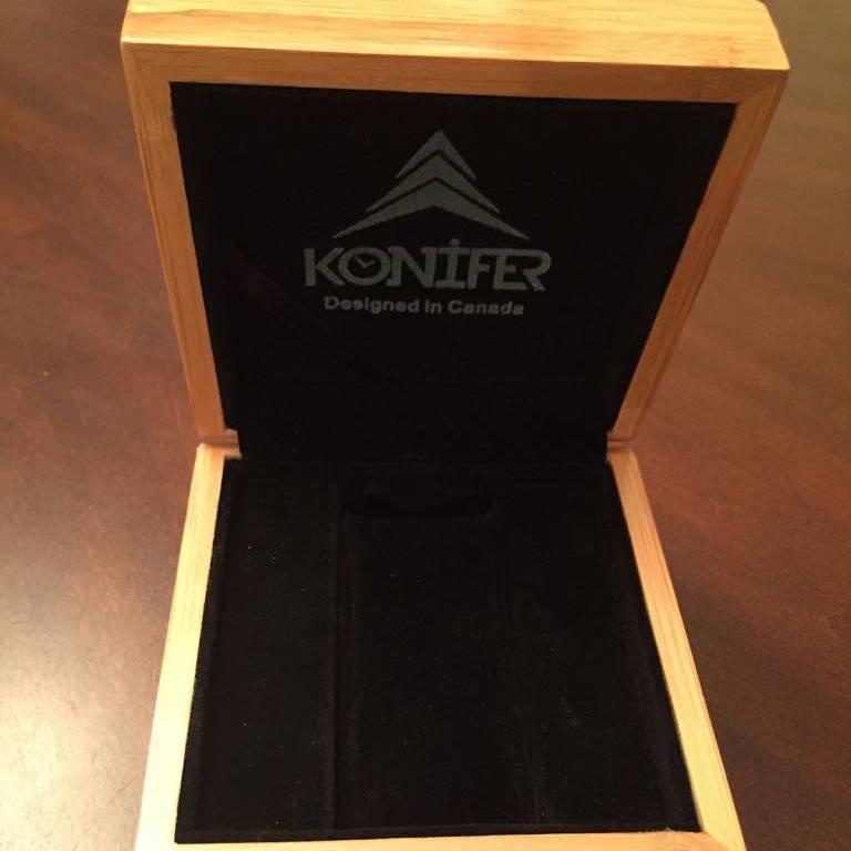 Konifer Konifer bamboo gift box
