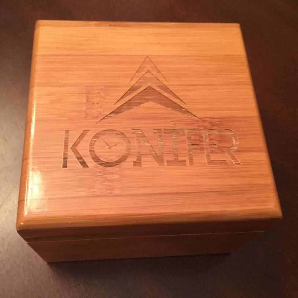 Konifer Boîte cadeau en bambou Konifer
